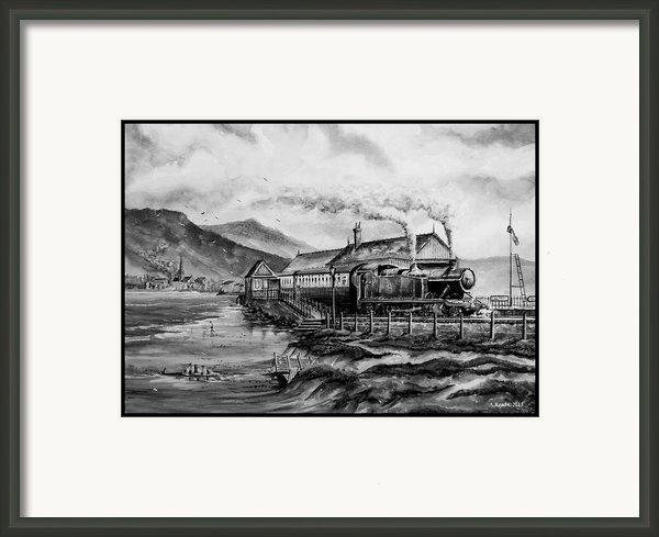 A Day At The Seaside Framed Print By Andrew Read