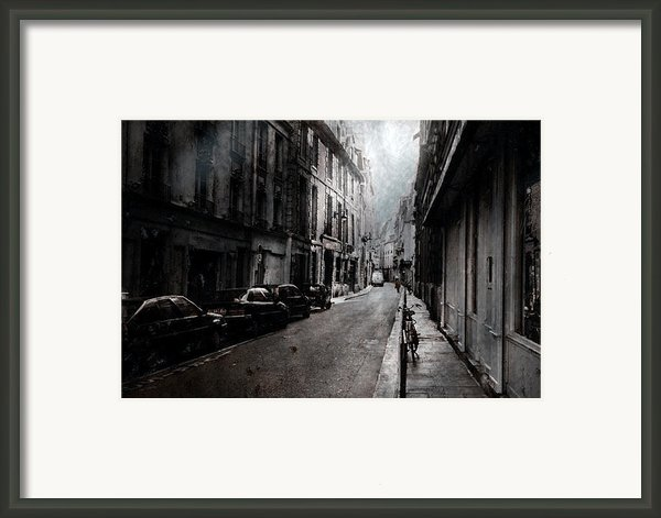 A Walk Apart Framed Print By David Fox