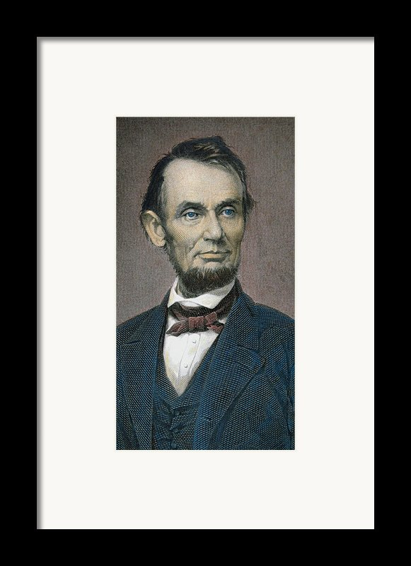 Abraham Lincoln Framed Print By American School