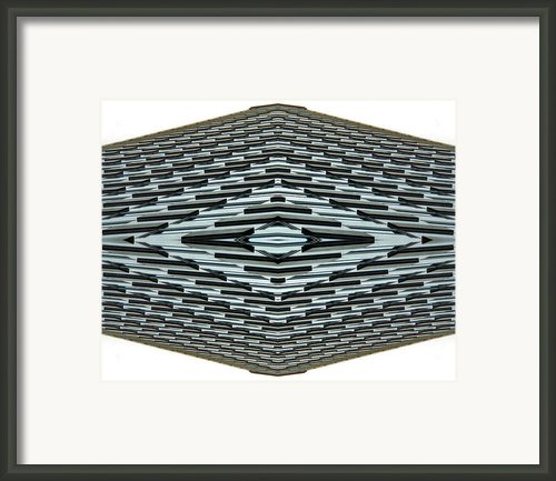 Abstract Buildings 2 Framed Print By J D Owen