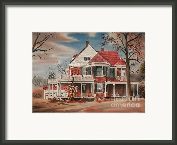 American Home Iii Framed Print By Kip Devore