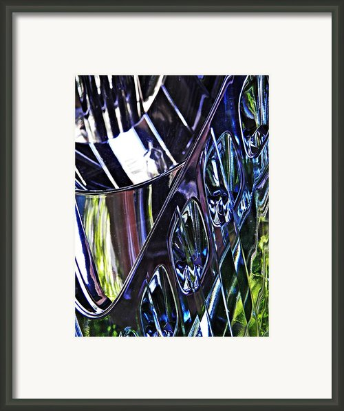 Auto Headlight 12 Framed Print By Sarah Loft