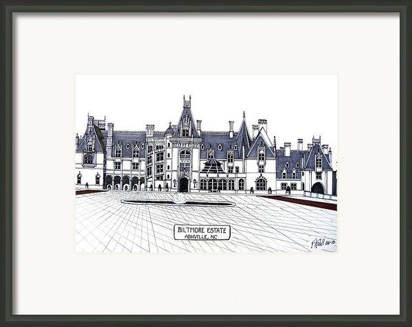 Biltmore Estate Framed Print By Frederic Kohli