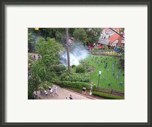 Busch Gardens - 12125 Framed Print By Dc Photographer