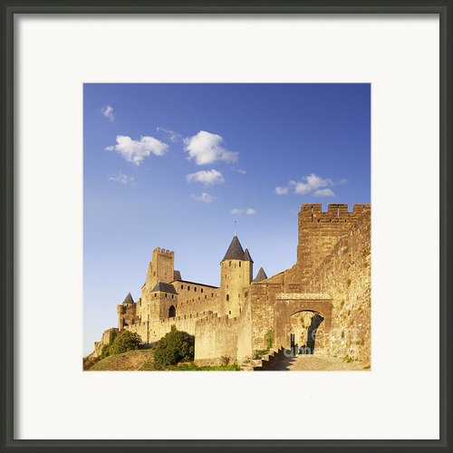 Carcassonne Languedoc-roussillon France Framed Print By Colin And Linda Mckie