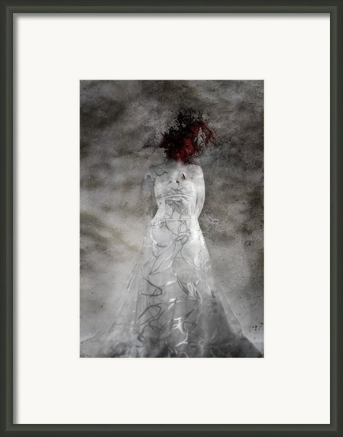 Doubt Framed Print By David Fox