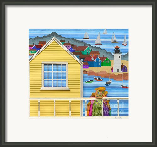 Finally Home Framed Print By Anne Klar