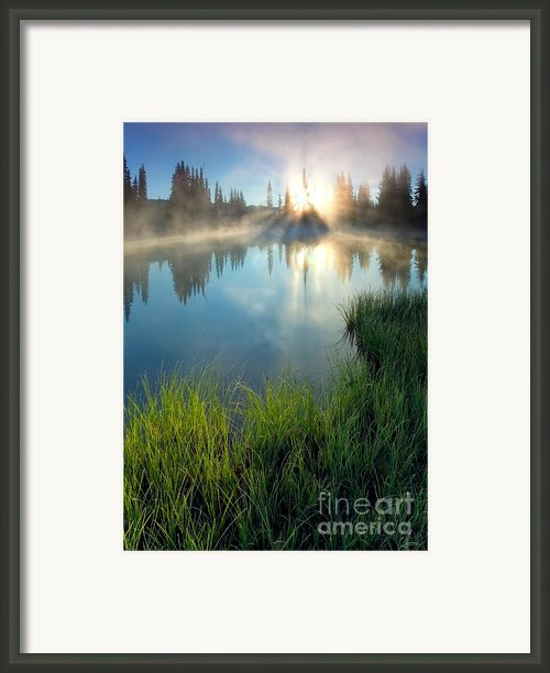 First Light Framed Print By Mike  Dawson