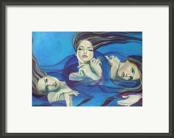 Fragments Of Longing  Framed Print By Dorina  Costras