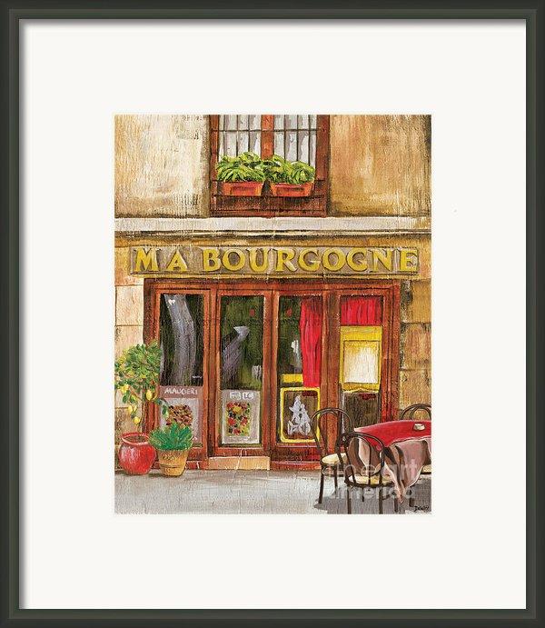 French Storefront 1 Framed Print By Debbie Dewitt