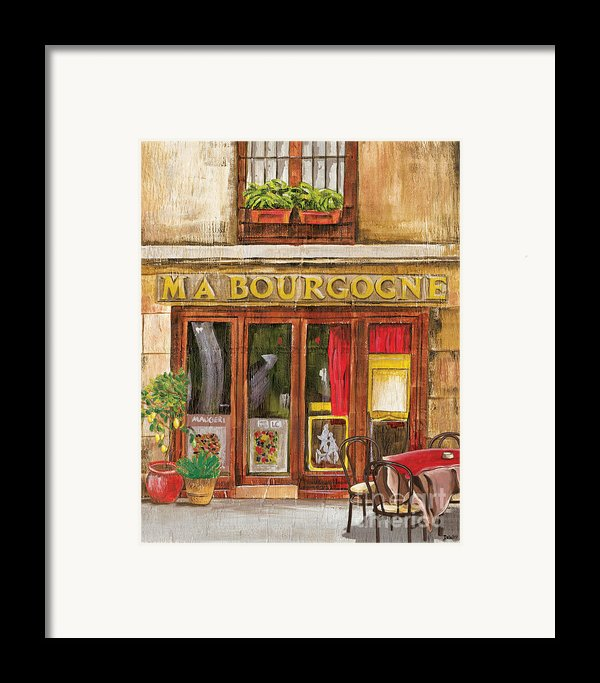 French Storefront 1 Framed Print By Debbie Dewitt