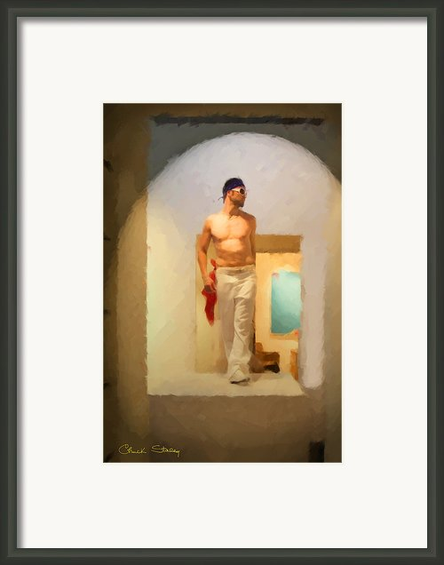 Go-go Boy Framed Print By Chuck Staley
