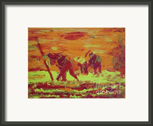 Hot Potatoes Framed Print By Linda Simon