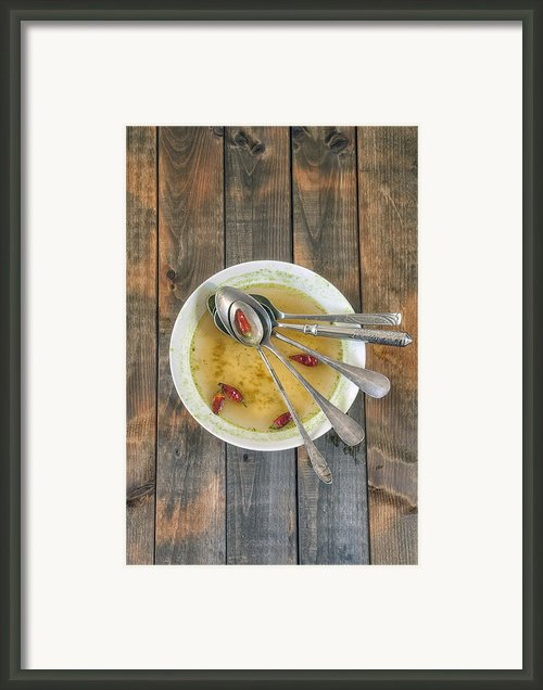 Hot Soup Framed Print By Joana Kruse