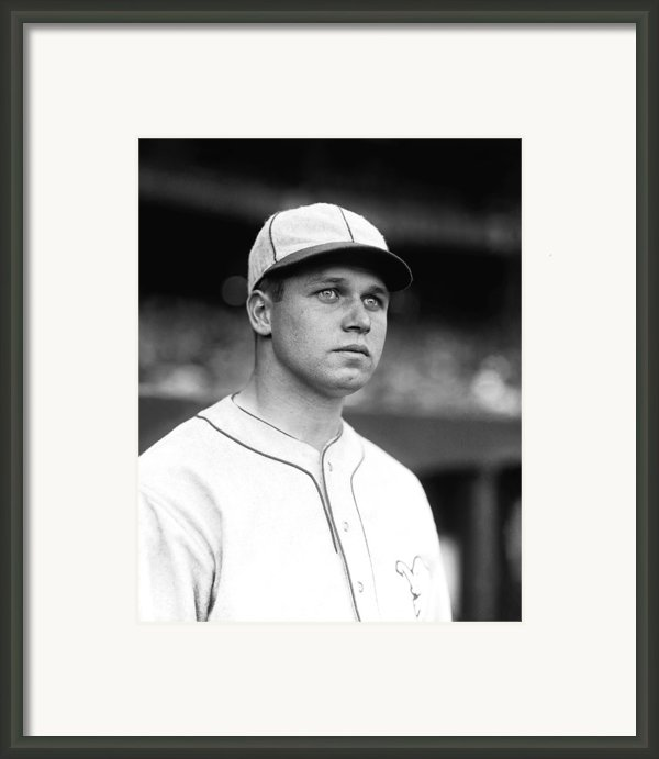 James E. Jimmie Foxx Framed Print By Retro Images Archive