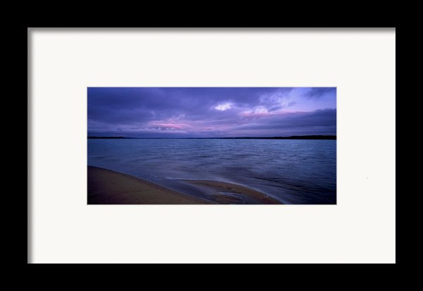Lake Peno Framed Print By Anonymous