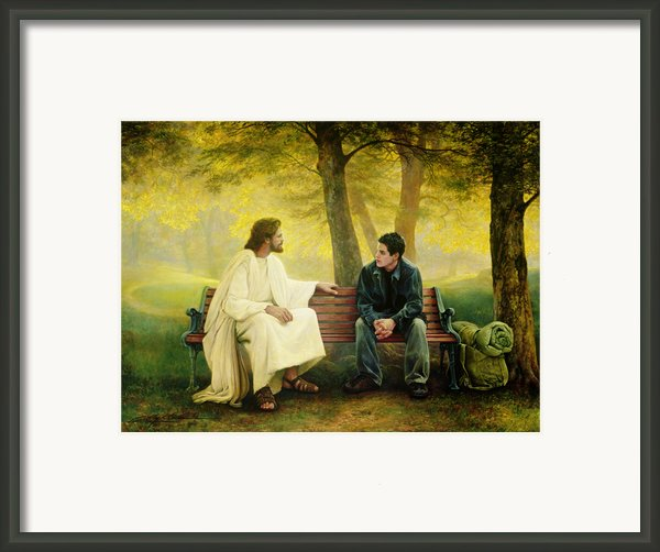 Lost And Found Framed Print By Greg Olsen