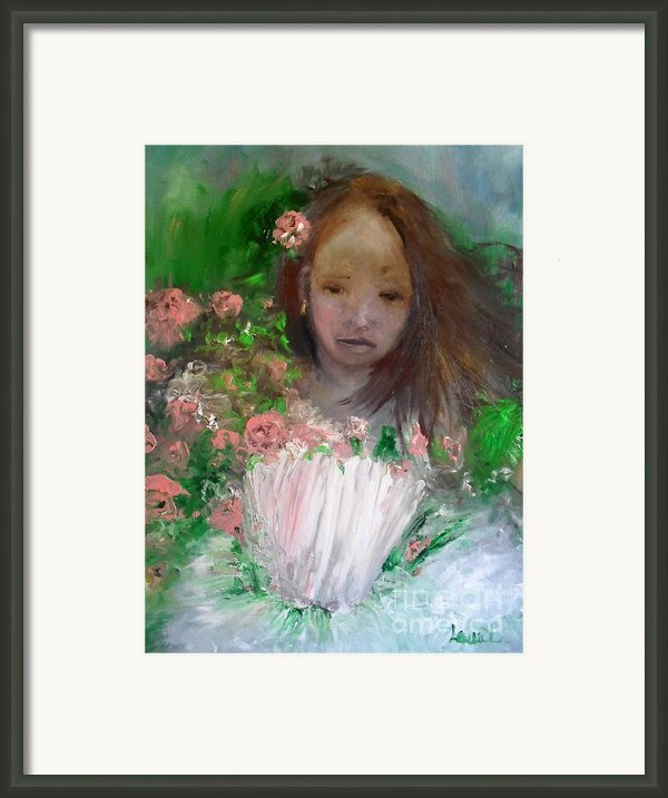Mary Rosa Framed Print By Laurie D Lundquist