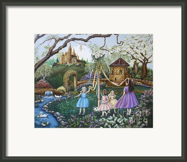 Mayday Serenade  Framed Print By Linda Simon