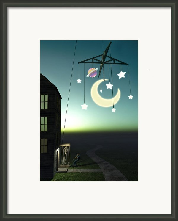 Moonrise Framed Print By Cynthia Decker