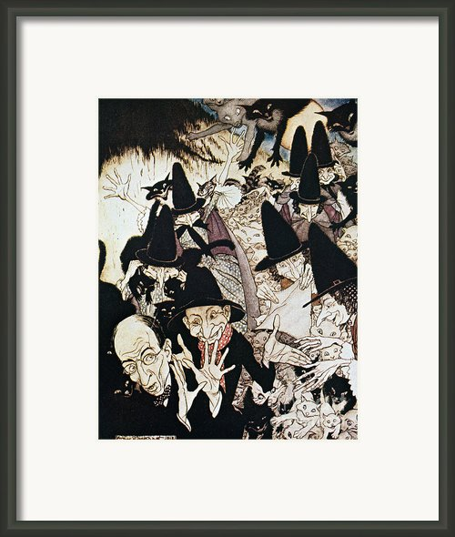 Mother Goose, 1913 Framed Print By Granger