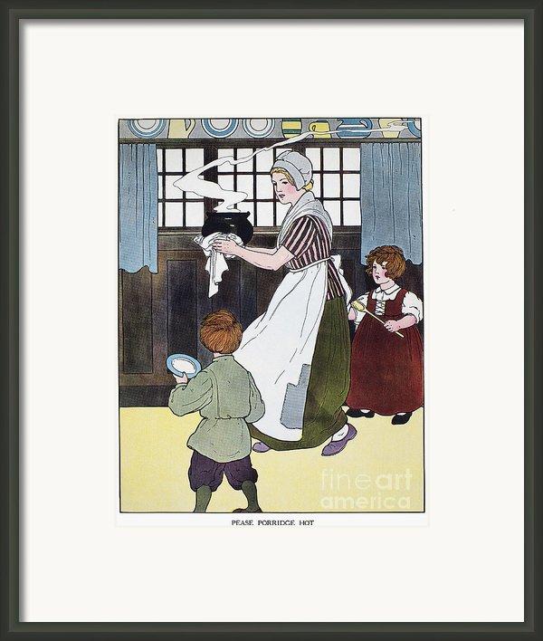 Mother Goose, 1916 Framed Print By Granger
