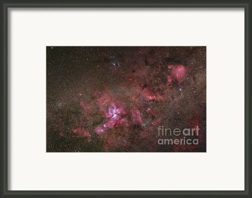 Ngc 3372, The Eta Carinae Nebula Framed Print By Robert Gendler