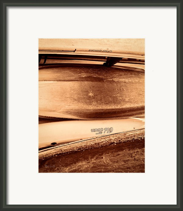 Old Town Canoes Framed Print By Bob Orsillo