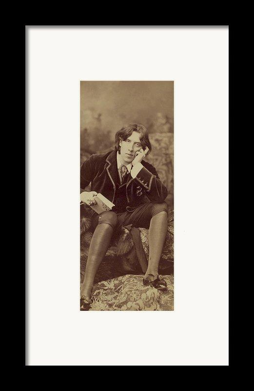 Oscar Wilde 1882 Framed Print By Napoleon Sarony