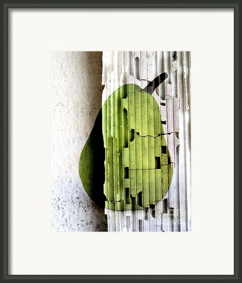 Pear Framed Print By Elena Nosyreva