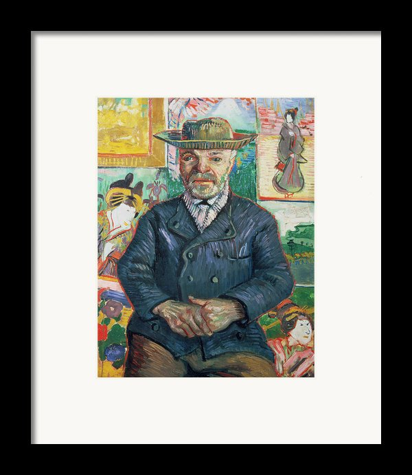 Pere Tanguy Framed Print By Vincent Van Gogh