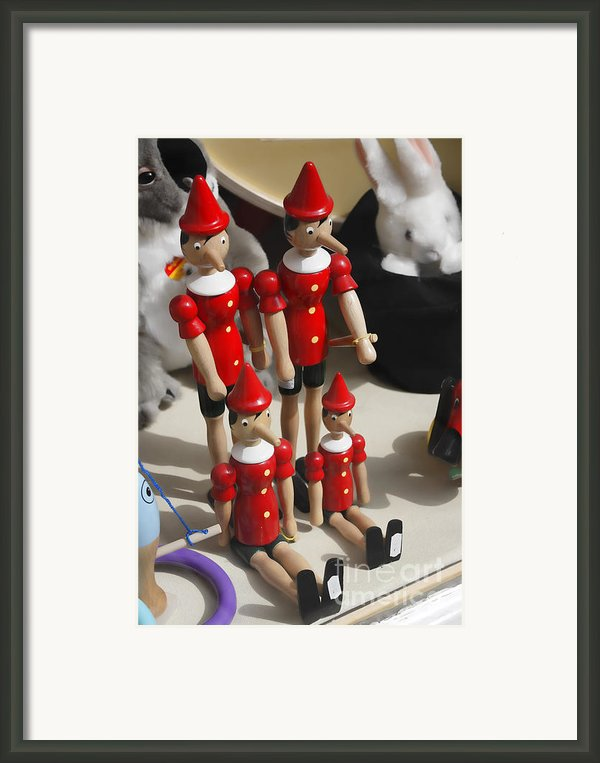 Pinocchio Framed Print By Craig Brown