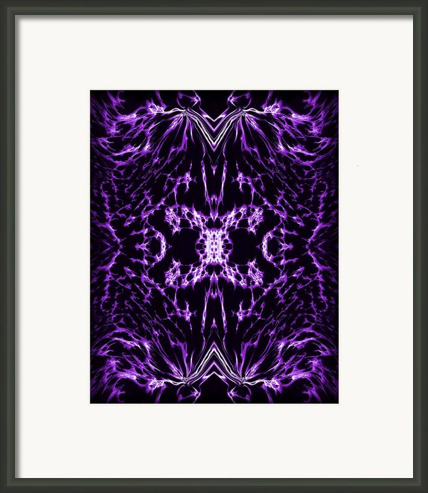 Purple Series 2 Framed Print By J D Owen