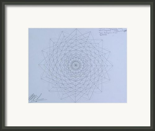 Quantum Foam Framed Print By Jason Padgett