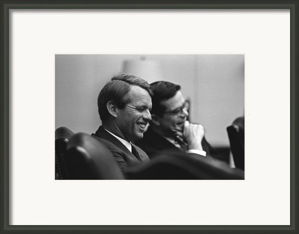 Robert Kennedy Framed Print By War Is Hell Store