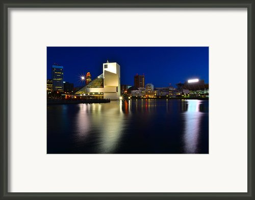Rock Hall Of Fame Framed Print By Robert Harmon