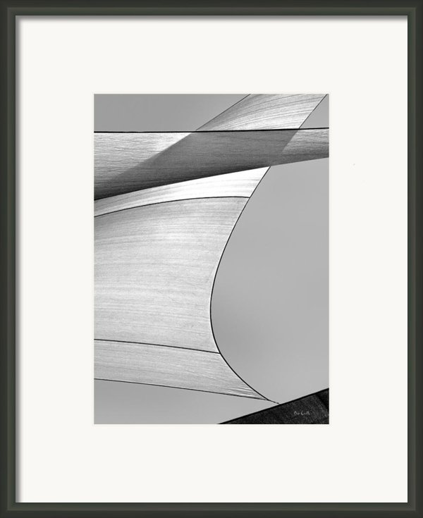 Sailcloth Abstract Number 4 Framed Print By Bob Orsillo