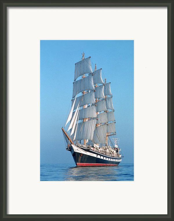 Sailing Ship Framed Print By Anonymous