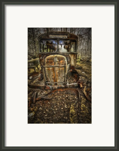 Schools Out Framed Print By Erik Brede