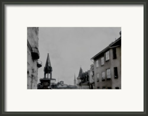 September Framed Print By David Fox