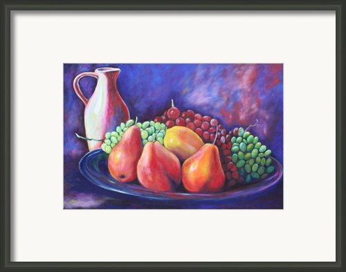 Simple Abundance Framed Print By Eve  Wheeler