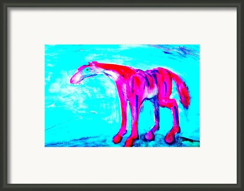 So Lonely I Could Die Framed Print By Hilde Widerberg