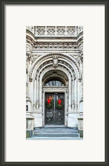 The Burrage House Framed Print By Jc Findley