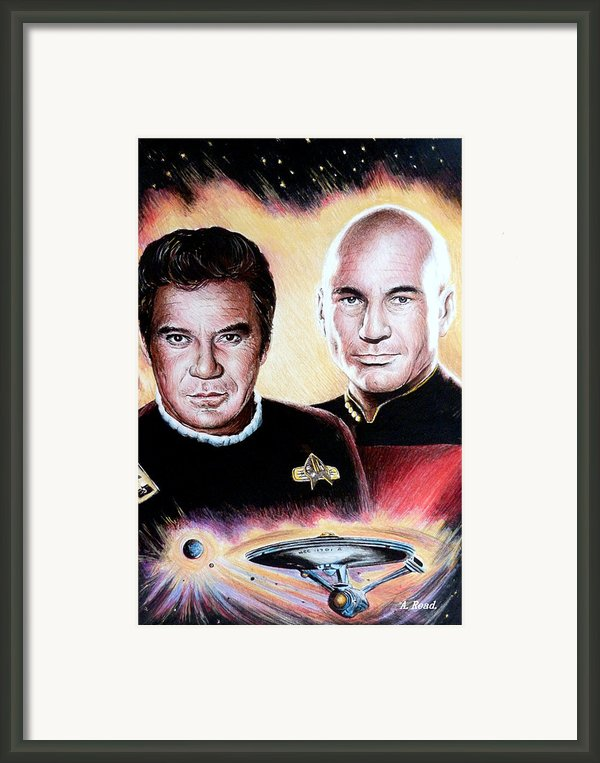 The Captains   Framed Print By Andrew Read