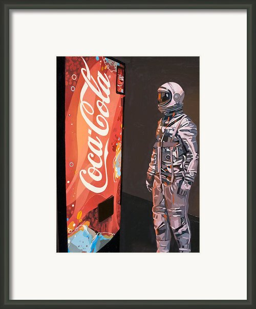 The Coke Machine Framed Print By Scott Listfield