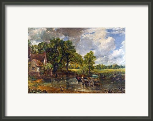 The Hay Wain Framed Print By John Constable