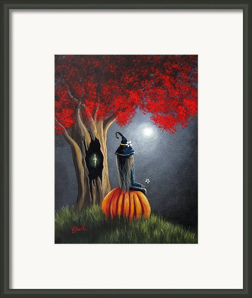 The Midnight Hour By Shawna Erback Framed Print By Shawna Erback