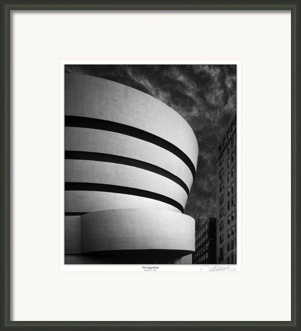 The Original Guggenheim Framed Print By Lar Matre