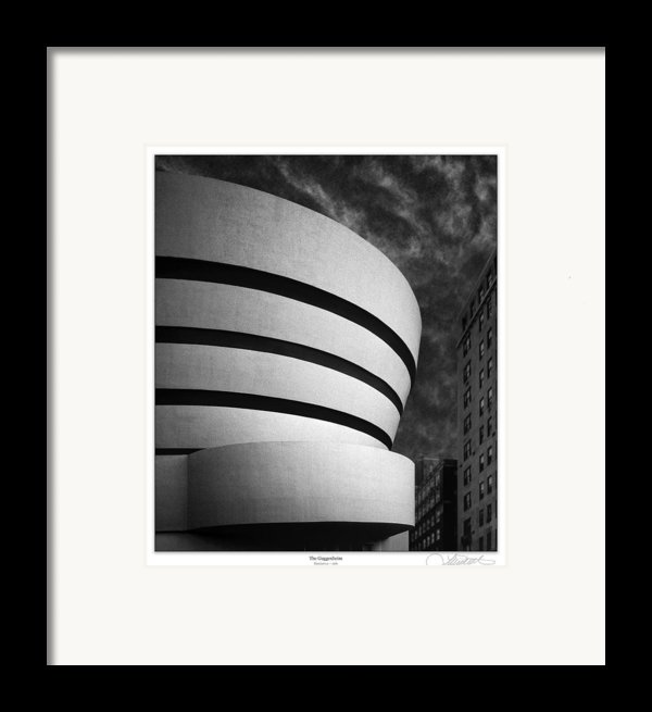 The Original Guggenheim Framed Print By Lar Matre