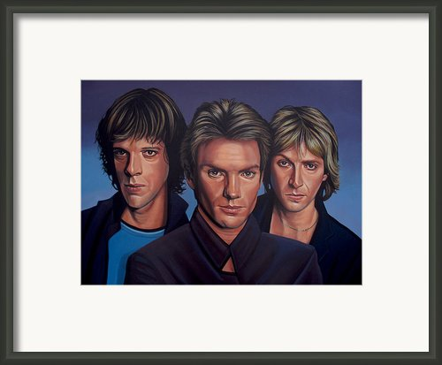 The Police Framed Print By Paul  Meijering